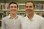 Teaching is all in the family for this father-son duo